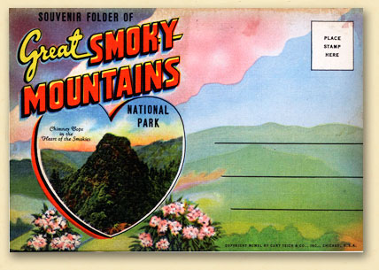Smoky Mt Postcard The History Of The Postcard