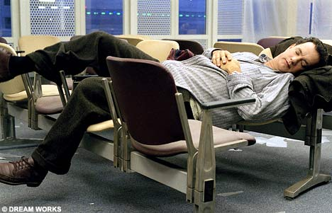 the terminal tom hanks Top 10 Best Movie Airports Scenes