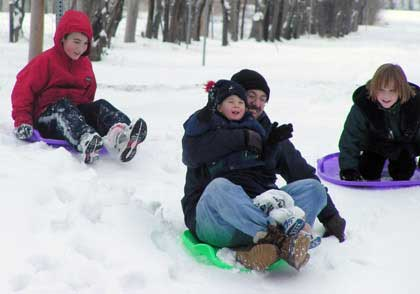 sledding 2 Top 10 Winter Activities Indoors And Outdoors